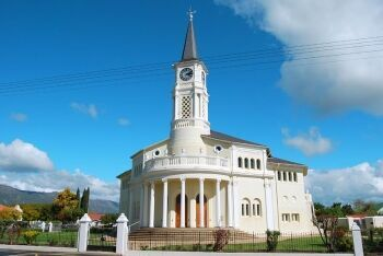 Dutch Reformed Church in Porterville, Cape West Coast, Western Cape