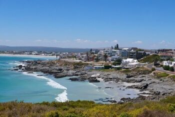 Fishing village at Yzerfontein, Cape West Coast, Western Cape