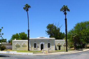 Clanwilliam museum is housed in the Old Gaol (old jail), Clanwilliam, Cape West Coast, Western Cape