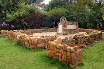 Great Trek Centennial memorial, built in 1938 in Clanwilliam to commemorate the Great Trek, Clanwilliam, Cape West Coast