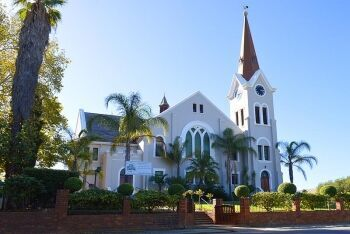 Dutch Reformed church, Riebeek Kasteel, Cape West Coast, Western Cape