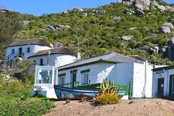 Fishermen\'s cottages, Saldanha, Cape West Coast, Western Cape