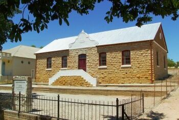Dutch Reformed Church at Clanwilliam, Cape West Coast, Western Cape