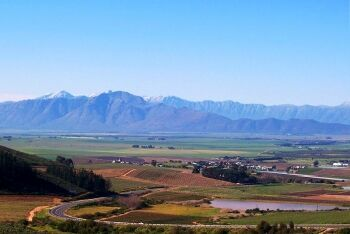 Valley at Riebeek Kasteel, Cape West Coast, Western Cape