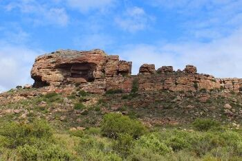 Diep Kloof Rock Shelter archaeological site, Elands Bay, Cape West Coast, Western Cape